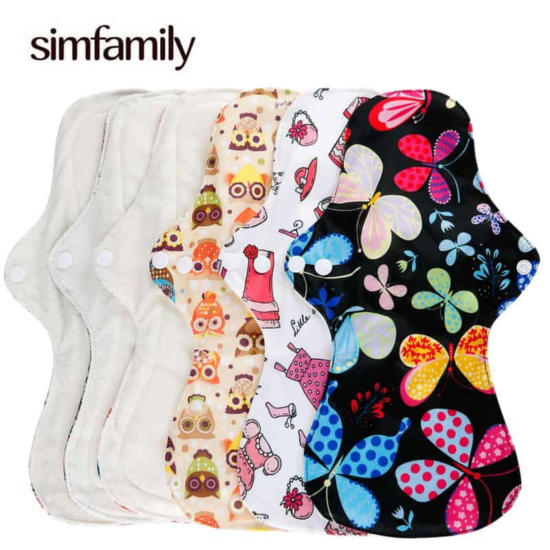 Reusable Sanitary Pads Heavy Flow Napkin
